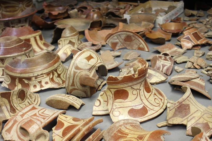 Pieza en el Centro de Investigaciones Arqueológicas