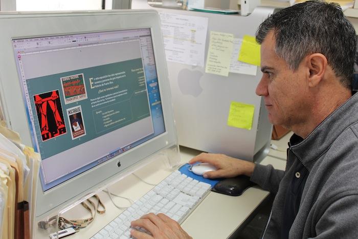 Lionel Ortiz, museógrafo del MHAA