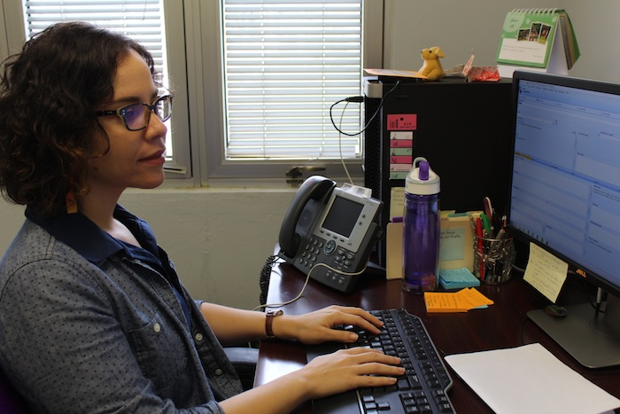 Tania Rodríguez, asistente museo UPR