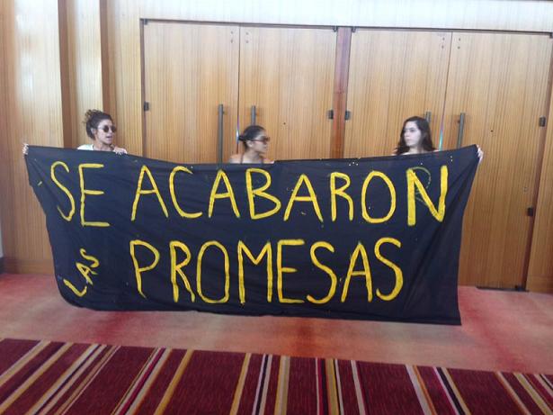 Esta fue la más reciente manifestación que se registra en contra de PROMESA. (suministrada)