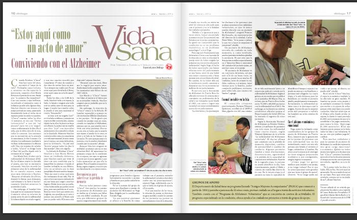 Reportaje en Diálogo.
