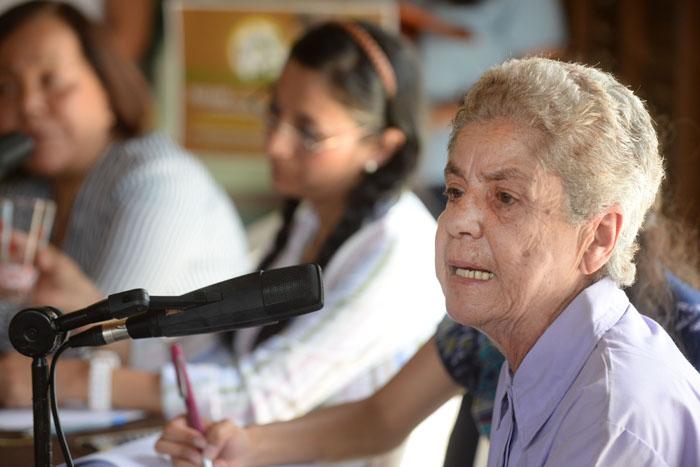 Tinti Deyá, representante de Casa Pueblo. (Ricardo Alcaraz/ Diálogo UPR)