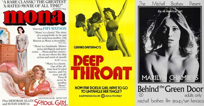 Películas pornográficas de la Era Dorada de la Pornografía