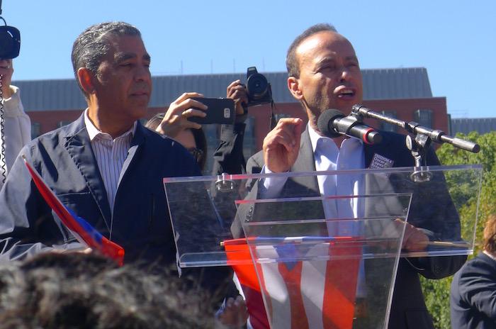 El congresista Gutiérrez lleva décadas expresándose en favor de los prisioneros políticos puertorriqueños. (Diálogo)