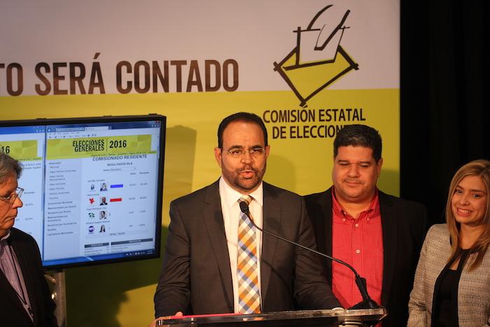 Aníbal Vega Borges reconoció la efectividad del escrutinio electrónico. (Adriana De Jesús / Diálogo)