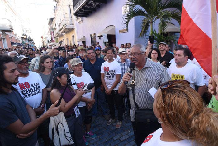Manifestación en Fortaleza