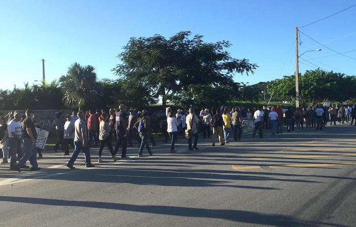 Manifestación Humacao 2 (Policía de Puerto Rico)