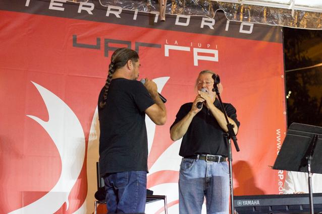 Roy Brown y Tito Auger