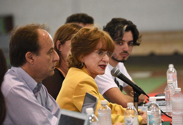 Asamblea de estudiantes del recinto de Cayey de la UPR/2 febrero 2017