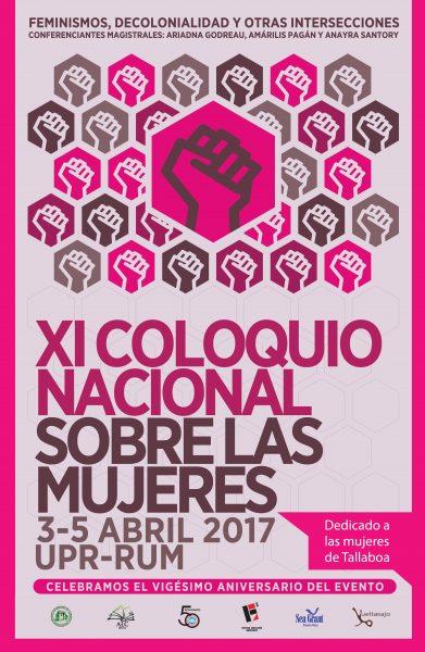 Poster coloquio mujeres Bea 2016