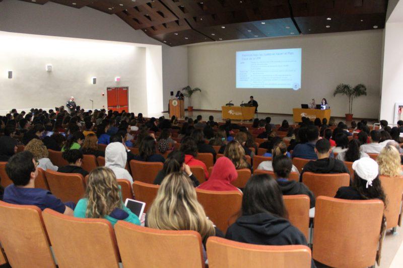 Se necesita 10% del estudiantado del RCM para que haya quórum de este recinto en la Asamblea Nacional, esto se traduce a 250 estudiantes.