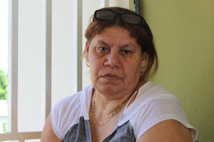 Lydia Vélez, madre de Luis Nieves, paciente PKU. (Alejandra Rosa/Diálogo)