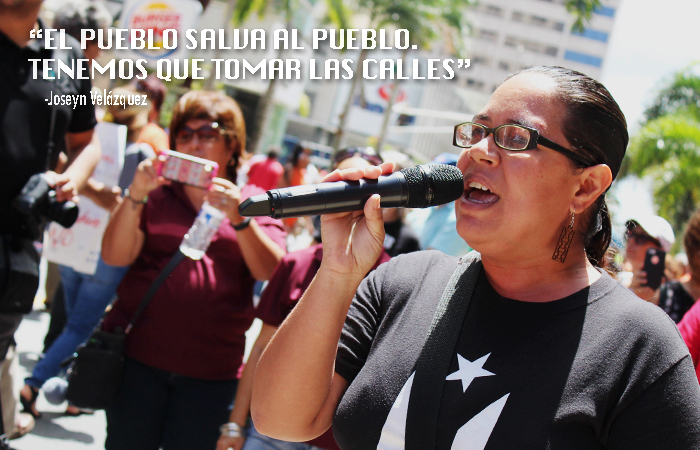 Jocelyn Velázquez de la Jornada se acabaron las Promesas. (Luis De Jesús / Diálogo)
