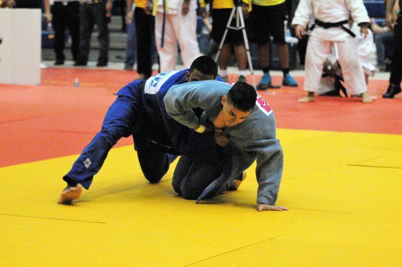 El judo masculino lo dominó nuevamente la Católica. (L. Minguela LAI)