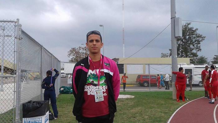 Jean Carlos Figueroa, atleta de la UMET