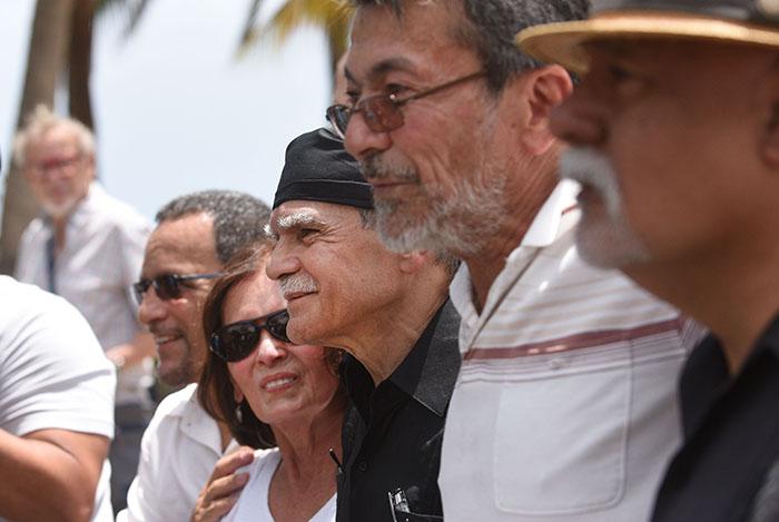 Oscar López brindó su primer mensaje en libertad el pasado 17 de mayo tras más de 35 años de prisión. (Ricardo Alcaraz / Diálogo)