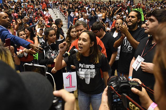 Asamblea General de Estudiantes de la UPRRP. (Ricardo Alcaraz / Diálogo)
