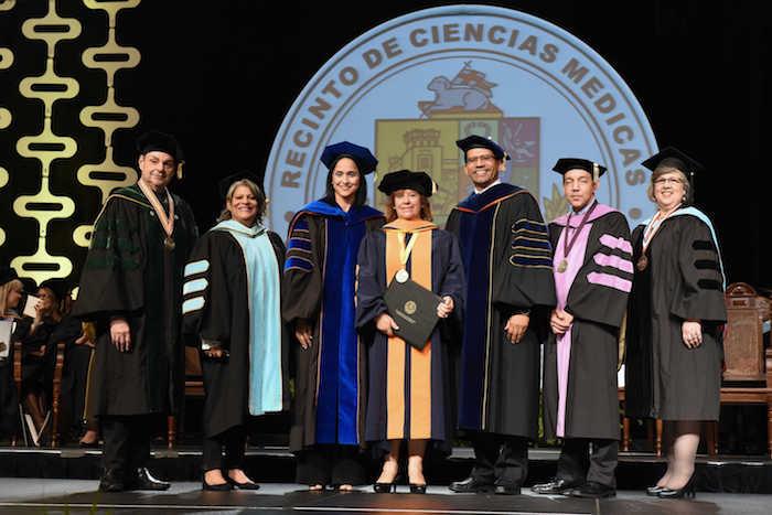 Graduación UPR 2017 Recinto de Ciencias Médicas en el Centro de Convenciones de Puerto Rico.  Fotos  por Ingrid Torres